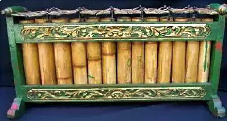 Alat Musik Kalimantan Selatan Tradisional Bumbung