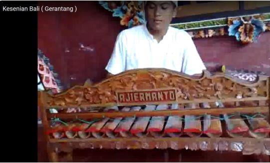 Alat Musik Tradisional Bali Gerantang