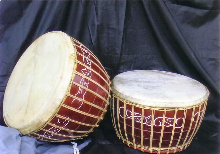 Alat Musik Tradisional Bangka Belitung Gendang Melayu