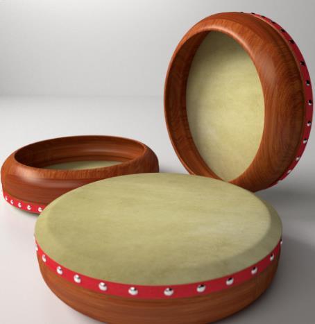 Alat Musik Tradisional Bangka Belitung Rebana
