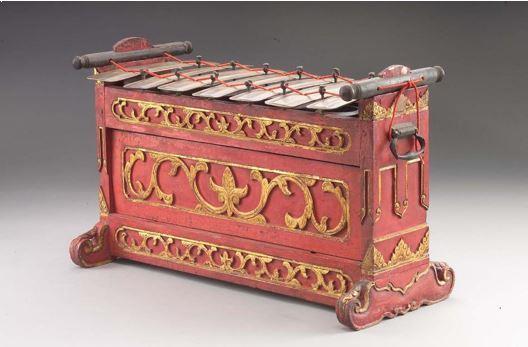Alat Musik Tradisional Jawa Tengah Slenthem