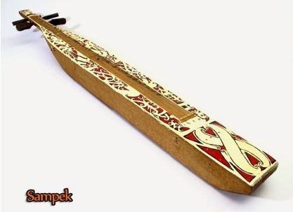 Alat Musik Tradisional Kalimantan Timur Sampek