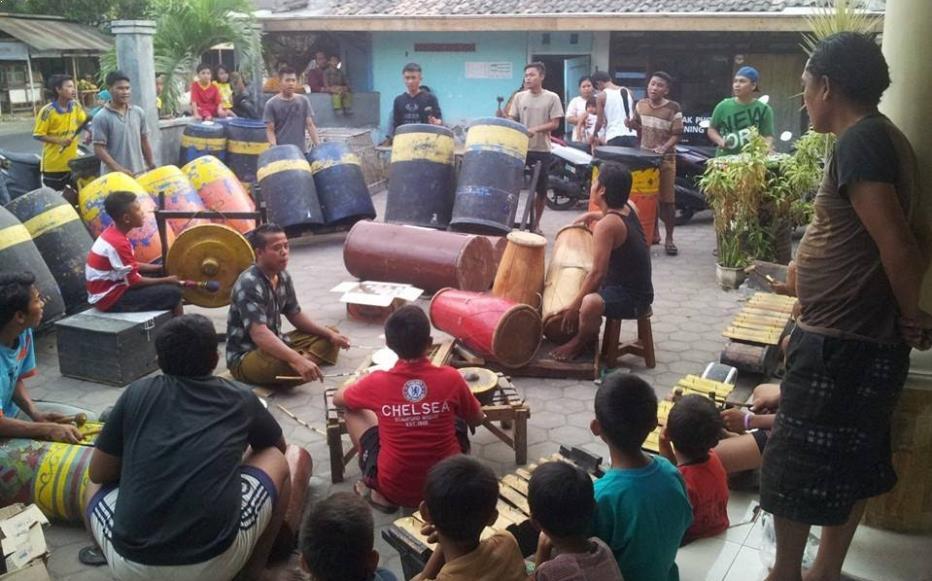 Alat Musik Tradisional Madura Ul Daul