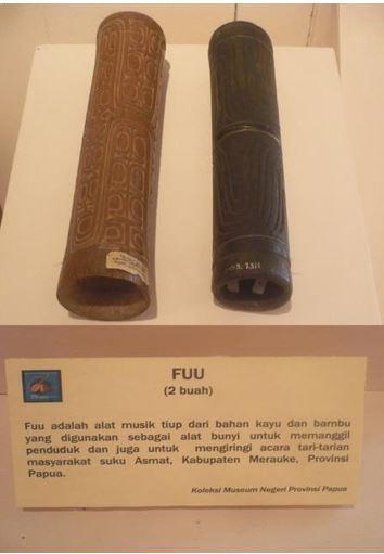 Alat Musik Tradisional Papua Fuu
