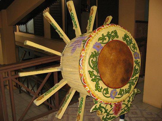 Alat Musik Tradisional Riau Rebana Ubi