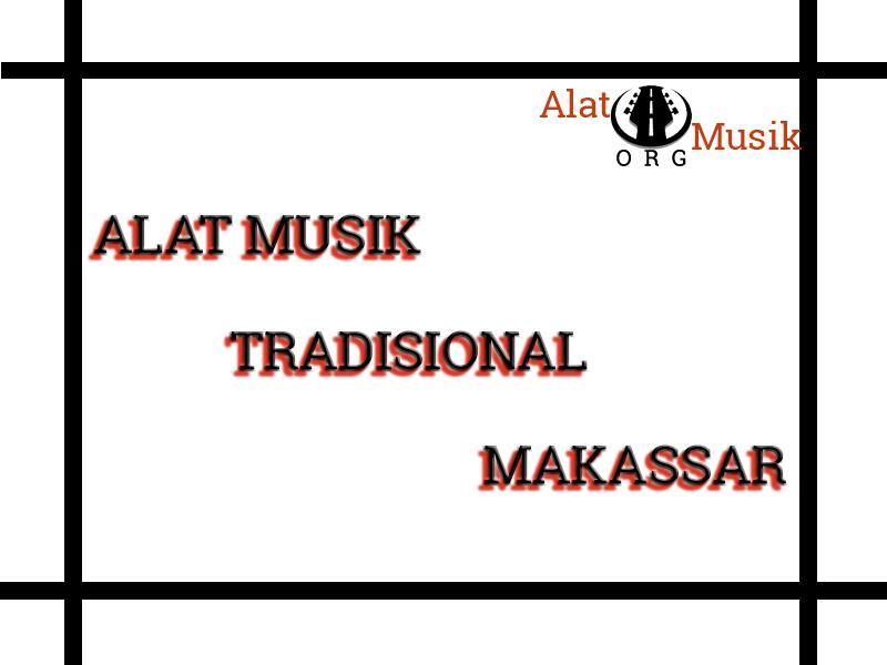 alat musik tradisional makassar