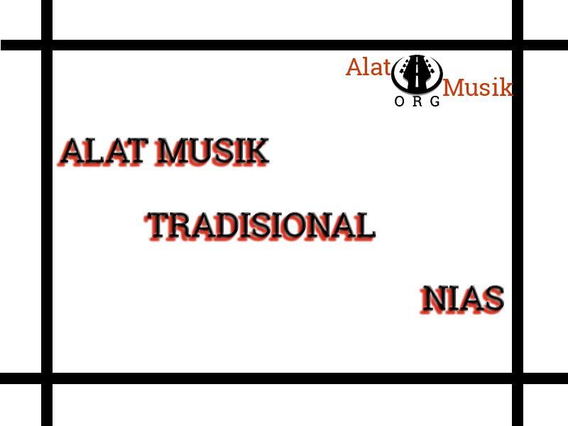 alat musik tradisional nias