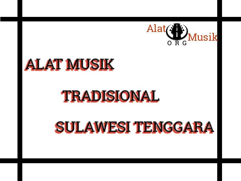 alat musik tradisional sulawesi tenggara
