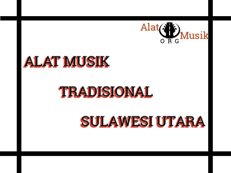 alat musik tradisional sulawesi utara
