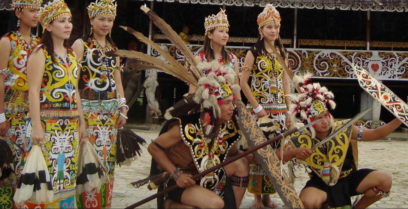 Alat Musik Tradisional Indonesia Kalimantan