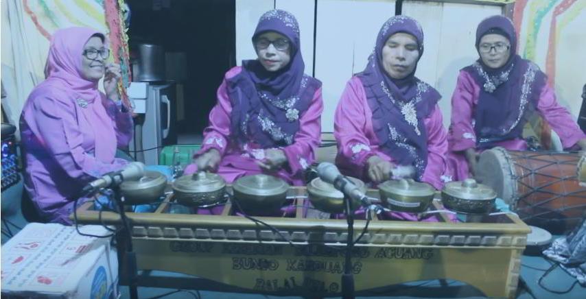 Alat Musik Tradisional yang Dipukul Aguang atau Gong Minang