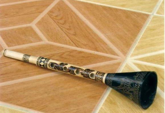 Alat Musik Tradisional yang ditiup Puwi-Puwi