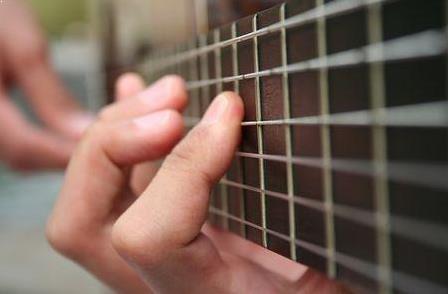 Illustrasi Cara Memainkan Alat Musik Gitar